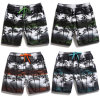 Beach Pants Coconut Tree Printing Water Sports Swim Men′s with Mesh Lining and Pocket