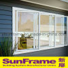 Three Opening Aluminium Casement Window System