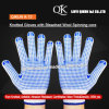 K-72 One Two Sides Dotted Knitted Working Safety Cotton Gloves