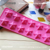 12 Pentagrams 26*9.5*1.5cm Silicone Rubber Cake Molds