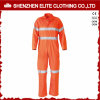 Hi Vis Orange Security Reflective Cotton Coverall (ELTHVCI-9)