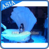 Party / Stage / Wedding Decoration Customized Giant Inflatable Stage LED Open Shell, Inflatable LED Shell for Advertising, Inflatable Turtle Shell
