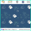PU Coated Waterproof Polyester 500d 72t Footprint Oxford Fabric for Baby Carriage