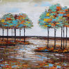 Abstract Oil Painting for Trees (ZH4013)