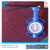 Coating Full PTFE Rubber Wafer Butterfly Valve with Handle Bct-F4bfv-17