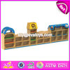 High Quality Kindergarten Toy Storage Furniture Cartoon Wooden Kids Storage Furniture W08c209