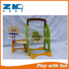China Indoor Playground Kids Plastic Slide and Swing Set
