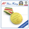 Newest Gold Plating Metal Medal