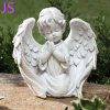 Beautiful Hand-Carved Little Angel Sculpture for Garden Decoration