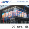 Customized Shape with P 5/ 7.5 / 10 mm SMD 3528 Large LED Glass Curtain Wall