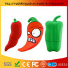Wholesale Silicone Red Pepper USB Flash Drive/ Simulation Food Vegetable USB Stick