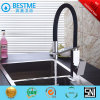 High Quality Black Color Flexible Brass Kitchen Faucet Tap (BF-20215)
