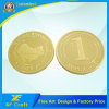 Professional Customized Stamping Gold Plated Souvenir Money Coins with Lowest Price (XF-CO27)
