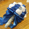 Crystal Satin Rose Wedding Bouquets Bridal Flower Bouquet