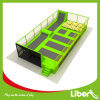 100 Sqm Small Kids Trampoline with Netting