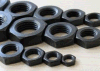 2016 Hot Sale Black Hex Thin Nuts, DIN439