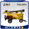 Trailer Mounted Water DTH Hammer Rotary Drilling Rig