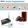 New Arrive Durable Transmitter and Receiver Wireless Coaster Pager System