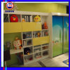 Children Sliding Door Wardrobe with Desk (ZH082)