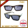 Polarized Lens Newest Retro Style Wooden Square Sunglasses China Supplier