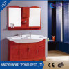 New Wooden Floor Standing Bathroom Sink Vanity with Double Basin