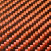 Red Color 3k 200g Twill Wovening Carbon Fiber Cloth