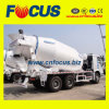 8-14cbm 6X4 HOWO Concrete Truck Mixer with Factory Price