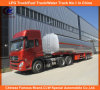 Heavy Duty Steel 60m3 Fuel Tank Trailer with Dongfeng Tractor
