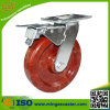 Heavy Duty Phenolic Wheel Brake Caster