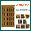 Steel Armored Splicing Security Door 2014 Wood Grain UV-Proof