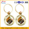 High Quality Rotating Mexico Metal Keychain with Key Ring