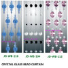 Colourful Crystal Bead Room Space Decoartion Curtain