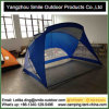 Sun Protection Blue Striped Camping Dome Beach Warehouse Roof Tent