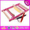 2015 Hot Funny Kid DIY Playset Weaving Loom Toys, Popular Gift Children Wooden Toy Loom, Wooden Creative Kids Loom Toy W01b016