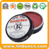 Cosmetics Packaging Box Rosebud Salve Metal Tin Can