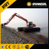 Heking 15 Tons Hydraulic Amphibious Excavator with Pontoon Digger (HK150SD)