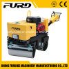 800kg Mini Double Drum Vibratory Hand Asphalt Roller for Sale (FYL-800)