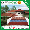 Africa Hot Sale Stone Chips Coated Metal Roof Tile (Romance type)