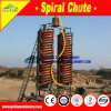 Gravity Machinery Spiral Chute Separator for Magnetic Iron Sand and Rutile Ore Concentration