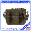 Mens Fashion Waxed Canvas Gear Bag for Trips and Traveling