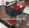 Supermarket Plastic Trolley Shopping Cart