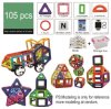 Educational Toy Magnetic Toys Magnetic Building Blocks Construction Blocks with ABS Plastic