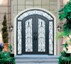 High Quality Customized Hot Galvanized Wrought Iron Gate Fence Gates