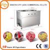 High Efficiency Double Pan Ice Cream Frozen Yogurt Frying Machine
