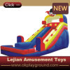 Princess Rose Red Color Castle Inflatable Bounce for Kindergarden (C1224-8)
