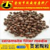 Water Resistant Materials 2-4mm Natural Ceramsite / Ceramsite Sand