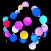 Flashing Effect Indoor Outdoor 220V 5m RGB LED Ball Bulb String Light