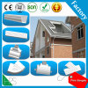 Guangzhou Manufacture Roof Rain Gutter Nigeria Hot Sale PVC Gutter Cheap Price