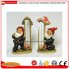 Polyresin Garden Decoration of Gnome Outdoor Decor Thermometer