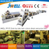 Jwell-PP|PS Side by Side Twin Colors Sheet Recycling Making Extrusion Plastic Cup Machine for Suction Package Stationery Decoration Convenience Food Package